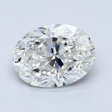1.20-Carat Oval Diamond Very Good G VS2