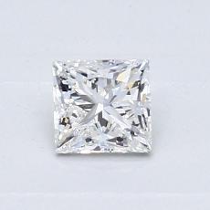 0,55 Carat Princesse Diamond Idéale Astor E VS1