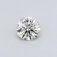 Recommended Stone #4: 0.31-Carat Round Cut