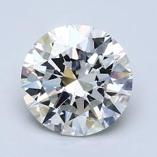 Recommended Stone #1: 1.85-Carat Round Cut