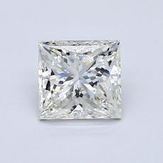 1.00 Carat Princesa Diamond Muy buena I SI1