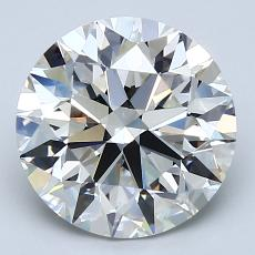 Recommended Stone #3: 3.10-Carat Round Cut