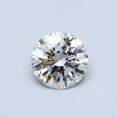 0.51 Carat 圆形 Diamond 理想 H VS1