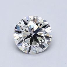1.00 Carat 圓形 Diamond 非常好 I SI2