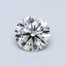 0,75 Carat Rond Diamond Idéale E VVS2