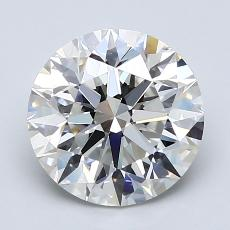 Recommended Stone #3: 2.30-Carat Round Cut