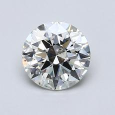 1.00 Carat Redondo Diamond Ideal K SI2