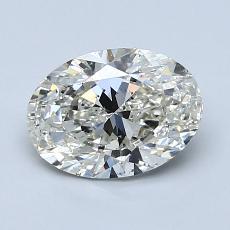 1.20-Carat Oval Diamond Very Good J SI1