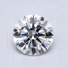 1,01 Carat Rond Diamond Idéale E VS1