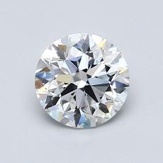 1.01 Carat 圓形 Diamond 非常好 E VS1