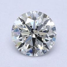1.51-Carat Round Diamond Ideal G VVS1