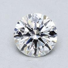 1.00 Carat 圆形 Diamond 理想 E VS1