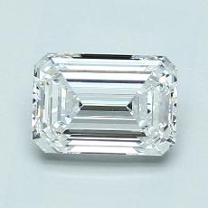 1,20-Carat Emerald Diamond Very Good E VVS1