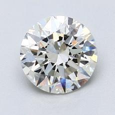 1,50-Carat Round Diamond Ideal I VS1