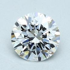 Current Stone: 1.60 Carat Round Cut
