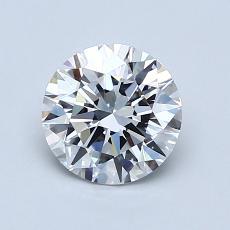 1.01 Carat 圓形 Diamond 理想 D VVS1