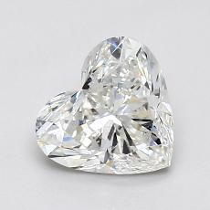 推荐宝石 4:1.10 克拉心形