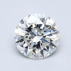 1,00 Carat Rond Diamond Idéale F VVS2