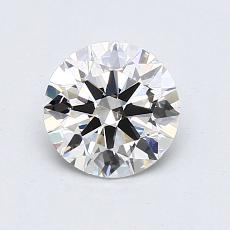 1.00-Carat Round Diamond Ideal G VS2