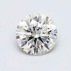 Pierre actuelle: Taille ronde, 1,01carats