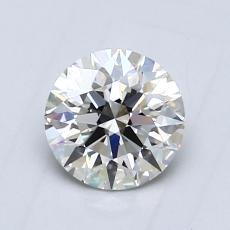 0,76 Carat Rond Diamond Idéale I VVS2