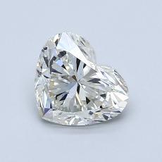1.02-Carat Heart Diamond Very Good J SI2