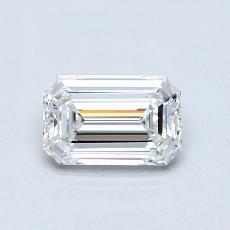0.53-Carat Emerald Diamond Very Good E VS2
