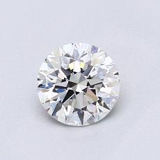 Recommended Stone #4: 0.70-Carat Round Cut Diamond