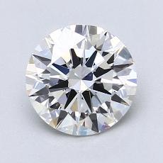 1.50 Carat 圆形 Diamond 理想 F VS1