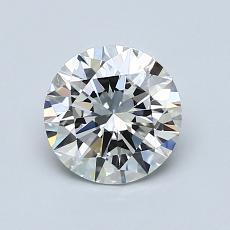 1,00 Carat Rond Diamond Idéale H VVS2