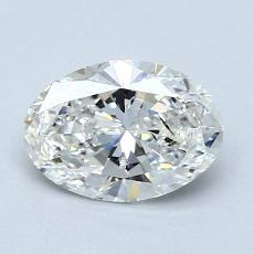 0.95-Carat Oval Diamond Very Good G SI2