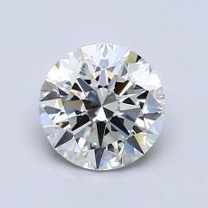 1.02 Carat 圆形 Diamond 理想 H IF