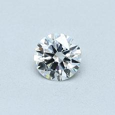 0.30 Carat 圆形 Diamond 理想 F VS2