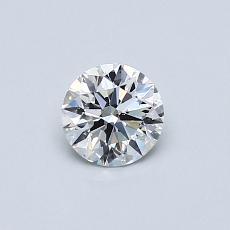 推荐宝石 4:0.41 克拉圆形切割