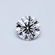 推薦鑽石 #1: 0.46 克拉圓形切割鑽石