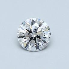 当前宝石:0.57 克拉圆形切割
