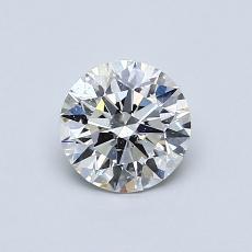 0.70 Carat 圆形 Diamond 理想 I SI2