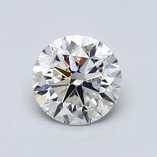 1.01 Carat 圆形 Diamond 非常好 F VS2