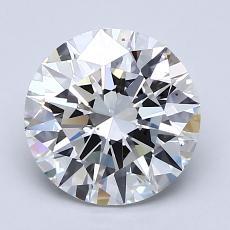 2.02 Carat Redondo Diamond Ideal F VS2