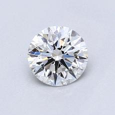 Recommended Stone #4: 0,72-Carat Round Cut Diamond