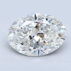 2.01 Carat 橢圓形 Diamond 非常好 G VS1
