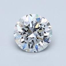 1.00-Carat Round Diamond Very Good D VS1