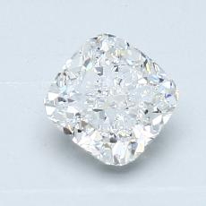 1.02-Carat Cushion Diamond Very Good D VS1