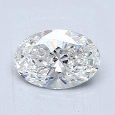 1,01-Carat Oval Diamond Very Good G VS1
