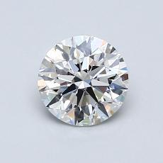 0.80 Carat 圆形 Diamond 理想 D VS1