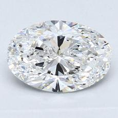 1.26-Carat Oval Diamond Very Good E VS2