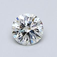 Recommended Stone #1: 0.81-Carat Round Cut