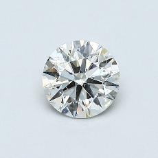 推荐宝石 2:0.45 克拉圆形 Cut