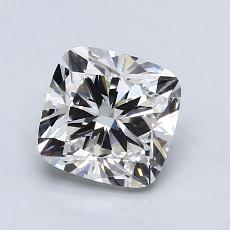 1.01-Carat Cushion Diamond Very Good H VVS1