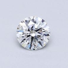 Recommended Stone #1: 0.61-Carat Round Cut